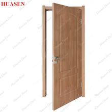 Black Walnut Interior Single Wooden Door Design