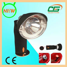 PC housing 3w LED rechargeable miner torch