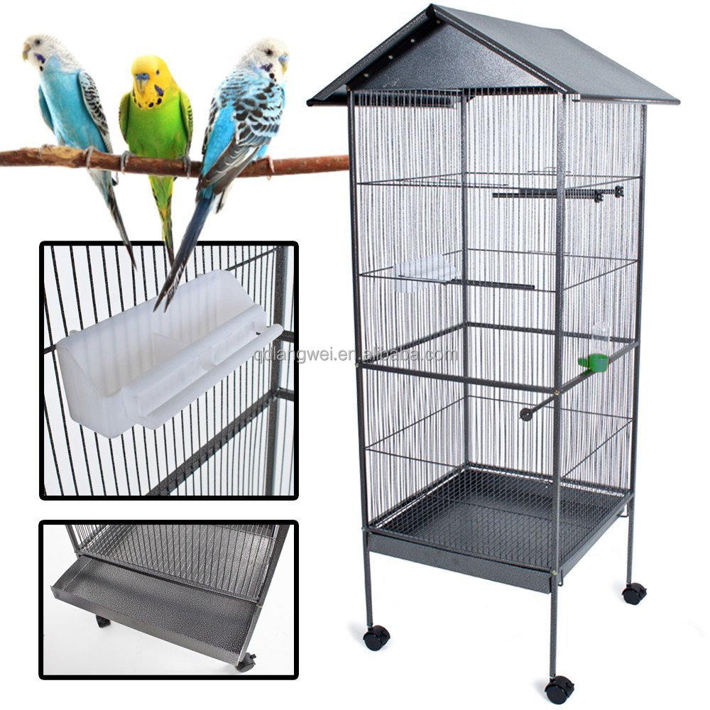 how to build a big bird cage