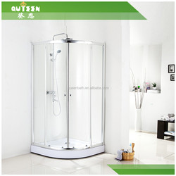 Diamond shower room without shower tray, shower screen,shower door.