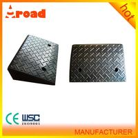 No damage for vehicle tire portable rubber car ramp with competective price