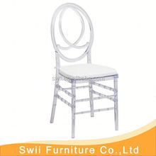 silla tiffany china clear dining chairs