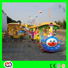 Limeiqi play equipment rides toy amusement park train case