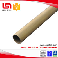 SB111 cold finished brass tube 40mm C44300 copper seamless tube