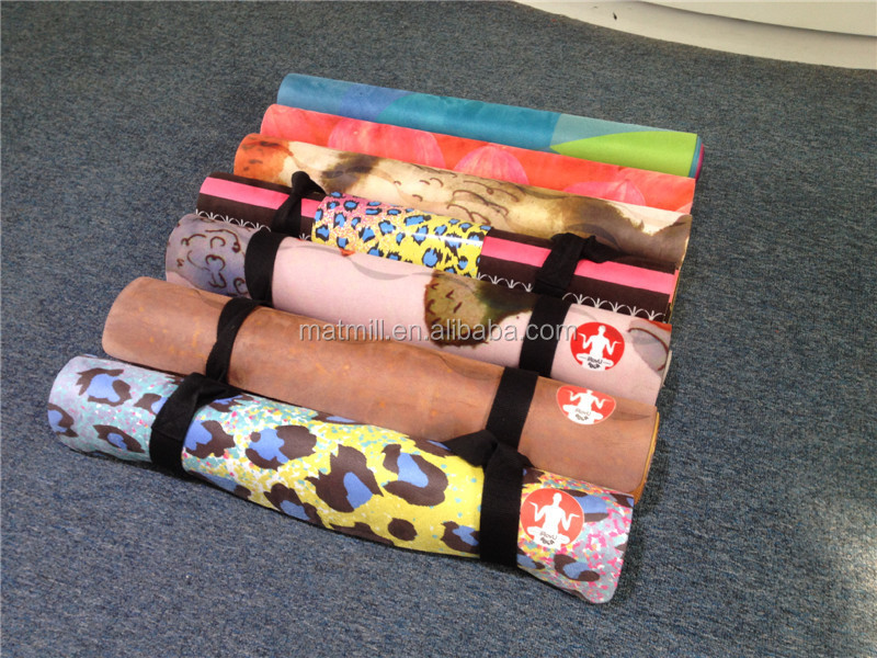 2015 Newest Eco-friendly natural rubber yoga mat,tree rubber eco yoga mat