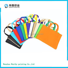 blank & printing non woven fabric shopping pp bags