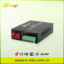 fiber modem 10/100M RS232 RS422 RS485 to fiber for industrial control