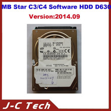 rofessional Super Diagnosis MB Star C4/C3 Software 09/2014 HDD DAS XENTRY For Dell D630
