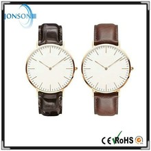 Minimalist 6mm super thin blank unbranded watches top brand watches