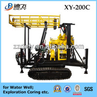 crawler,trailer,tractor,wheel type 200m drilling rig blast hole for sale