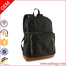 2015 new products school backpack, canvas backpack