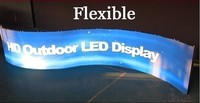 Hiring performance Curve LED Screen flexible curtain LED, soft LED display/Led video wall, indoor flexible LED factory