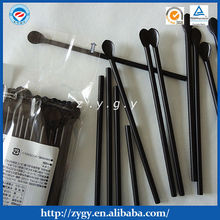 newest design plastic disposable spoon straws