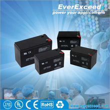 EverExceed ISO certificated dry battery 12v for ups