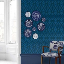 New product modern fashion environment friendly decorative non woven wallpaper for hotel club