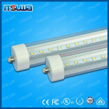 CSA DLC cUL UL T8 LED Tube 120lm/w G5 G13 Fa8 led tube rotatable end caps avaliable 6ft 8ft t8 led tube T12