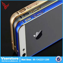 aluminum mobile phone case for iPhone 4 4s aluminum circle phone cover for iphone