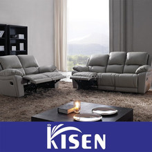 Modern leather recliner sofa furniture set