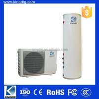 high COP hot water air heat pump with water tank