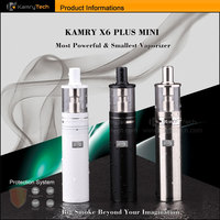 USB ego vaporizer vapoe pen starter kit kamry x6 plus mini ecig kit with 0.5ohm replace sub ohm tank