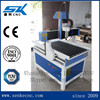 Best quality 6090 size aluminum stainless steel mold carving machine metal cnc router sign making