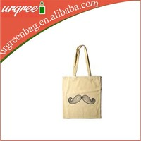 heavy duty cotton canvas blank wholesale tote bag with zipper closure