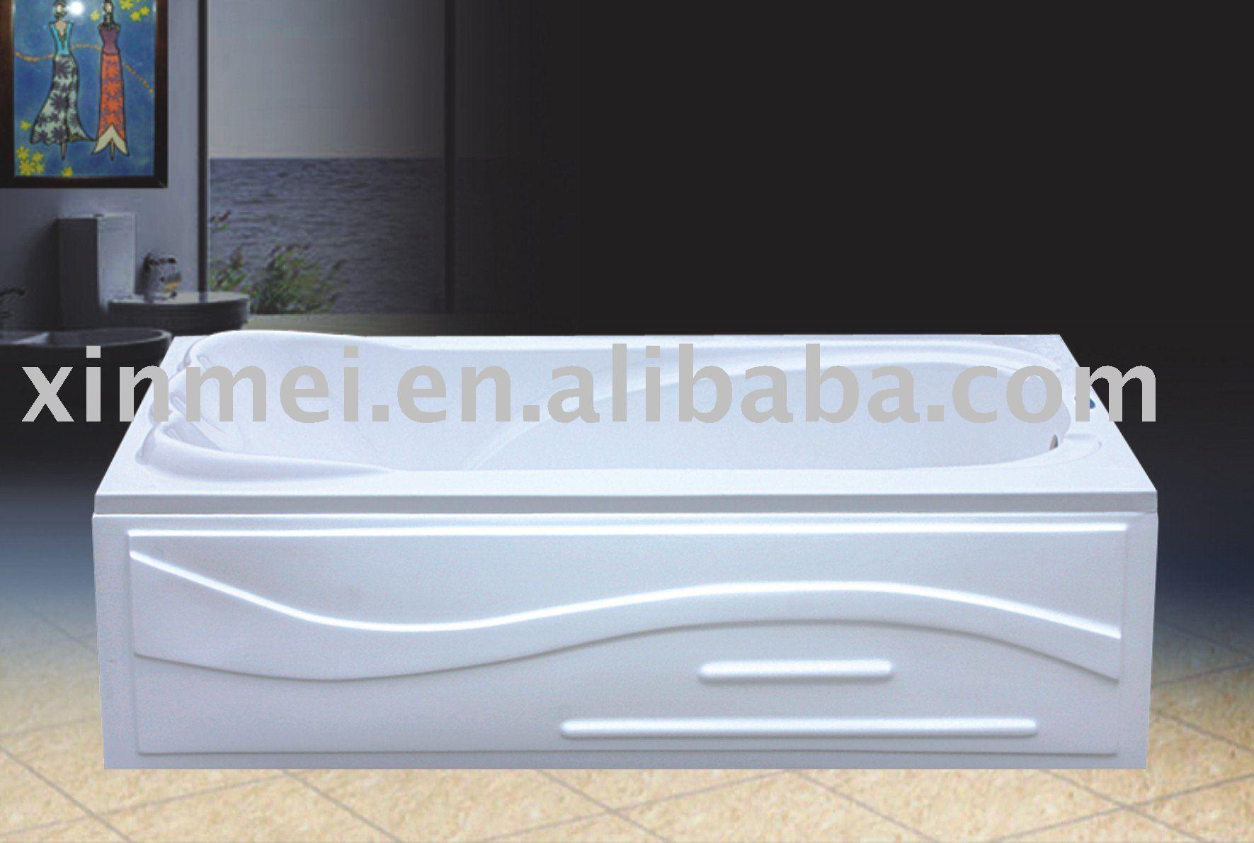 Acrylic bathtub apron bathtubs skirt bath tubs buy skirt for Best acrylic bathtub to buy