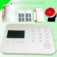New product touch keypad security alarm system home security system with 99 wireless zones