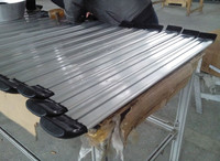 long-lasting aluminum guard rail for truck, waterproof Truck Aluminum profiles guardrail for construction machinery