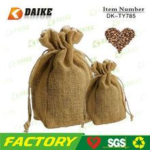 Jute Coffee Bean Supplier jute bag cocoa beans DK-TY785