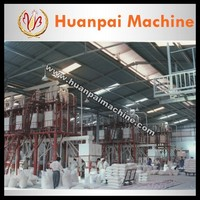 HF 6FYDT-100T corn flour making machine corn grits machine