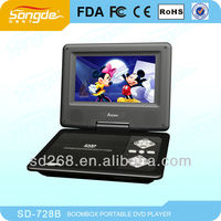 7'' Cheap Chinese TV Portable DVD