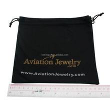 micro fiber logo photo customizable printed jewelry promotion bag