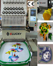 New condition cap/flat computer embroidery machine price for sale(EG1501CS)