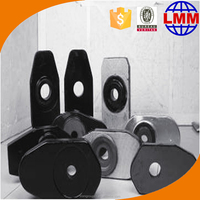 Good thermal shock resistance Mgo lower slide plate for tundish exporting many countries with best service