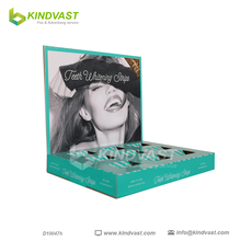 POP Cardboard counter top display case for Cosmetics