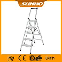 manufactory price aluminium collapsible ladder