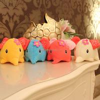 Children's Lovely Elephant Soft Plush Toy Babies Animal Dolls 7 Inches, Elephant stuffed toy plush elephant toy