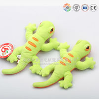 Wholesale cheap plush green gecko for sale