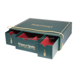 2015 alibaba Hard paper drawing box custom jewelry gift box