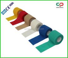 Coesa bandagem elástica médica / envoltório para suporte