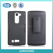 2 in 1 design funda clip holster stand for lg magna h500