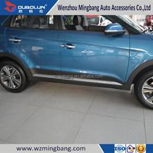for 2015 Hyundai IX25 Exterior Accessories High quality ABS chrome Car door strip side moulding trim bar