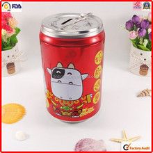 factory packing wholesale round printed gift metal tin box