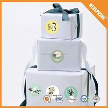 Long performance life EN71 removable sponge cartoon animals wall stickers