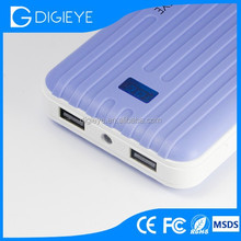 Portable dual power pack 8800mAh for travel