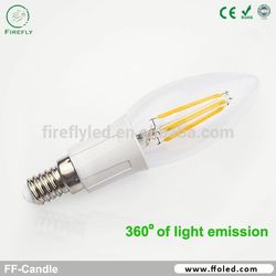 hot sale candle led filament candle vertax e14 for canon 70d battery grip warm white 3000k