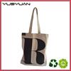 2015 Manufacturer wholesale very high quality high end big size blank cotton canvas woman handbag cheap designer bag