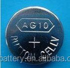 AG10 battery 0% mercury button cell pack