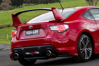 2012-2014 TOYOTA GT86/ BRZ NUR SPEC style carbon fiber trunk rear spoiler GT WING